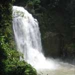 Haew Narok Waterfall is the highest in Khao Yai